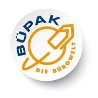 Zur Starseite der Büpak GmbH - Ihre Bürowelt für Bürobedarf, EDV-Zubehör, Drucker, Kopierer, Faxgeräte